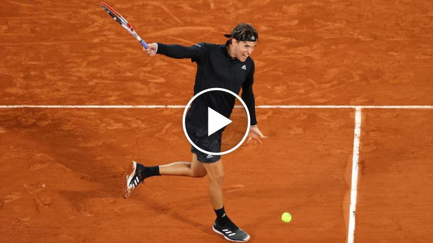 Roland Garros 2020: Dominic Thiem's ​​WRIST-TRICK and super rally