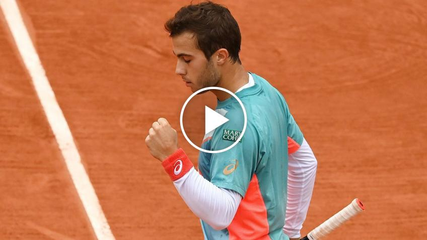 Roland Garros 2020: Gaston ELIMINATED Wawrinka! Here the match-point!
