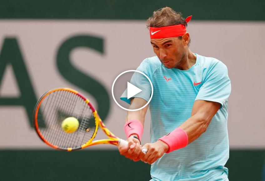 Roland Garros 2020: Rafael Nadal vs Stefano Travaglia's highlights