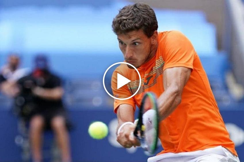 Roland Garros 2020: the 32-SHOTS-RALLY between Carreno and Bautista