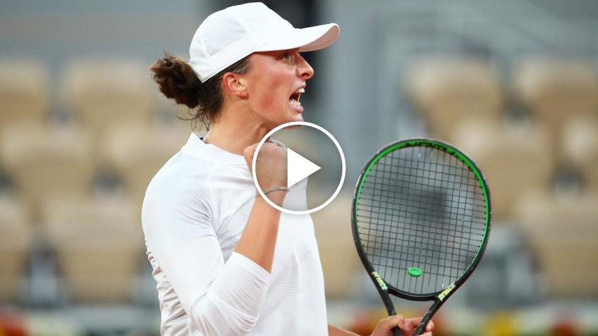 Roland Garros 2020: Iga Swiatek ELIMINATED Halep! Here the match-point!