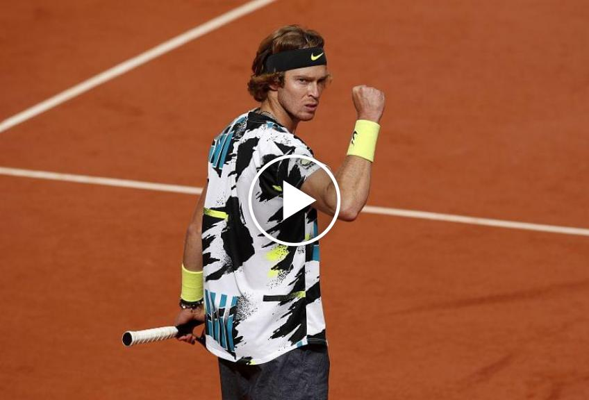 Roland Garros 2020: Andrey Rublev's MATCH-POINT to got the quarters!