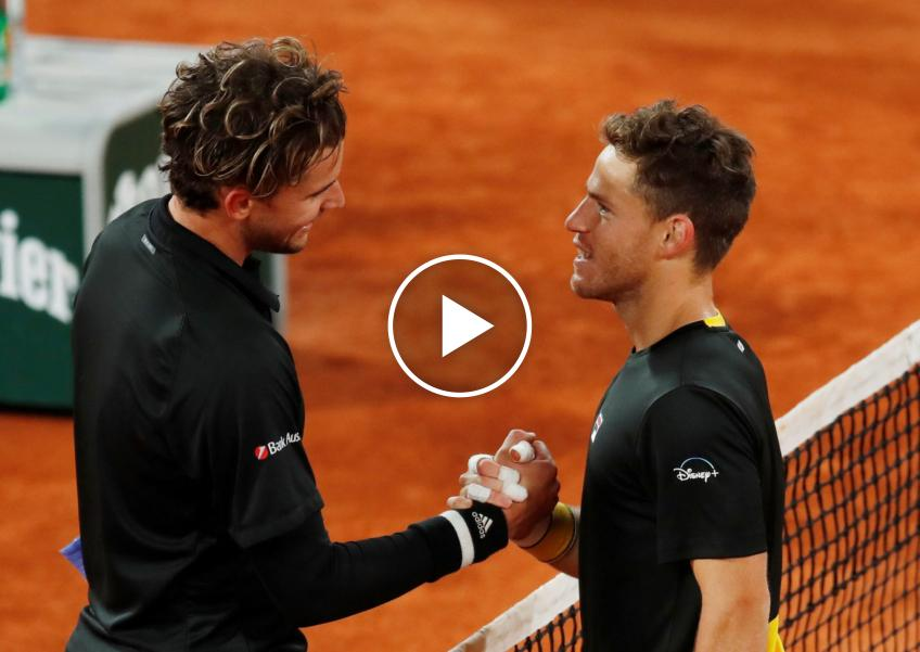 Roland Garros 2020: Diego Schwartzman's MATCH-POINT against Thiem!