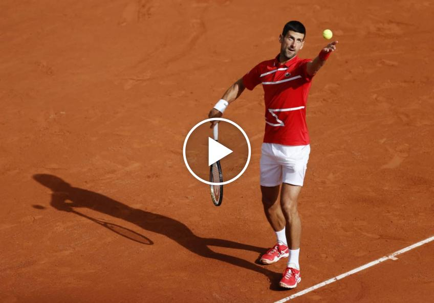 Roland Garros 2020: Djokovic's WINNER ends a super rally!