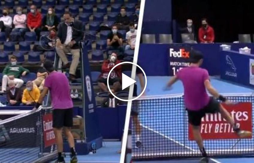 ATP Antwerp: Karen Khachanov goes crazy against Evans!