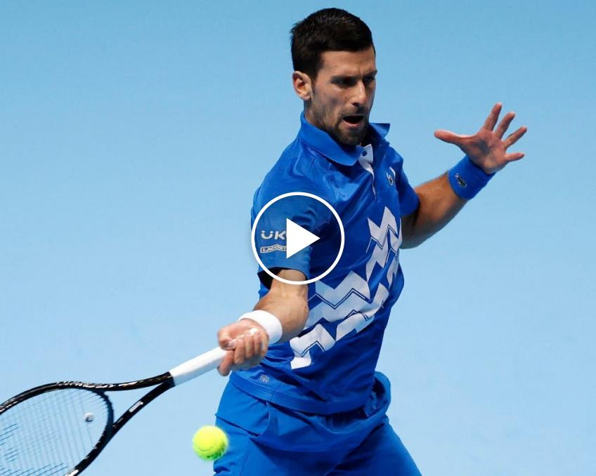 ATP Finals: Novak Djokovic and Daniil Medvedev's HIGHLIGHTS