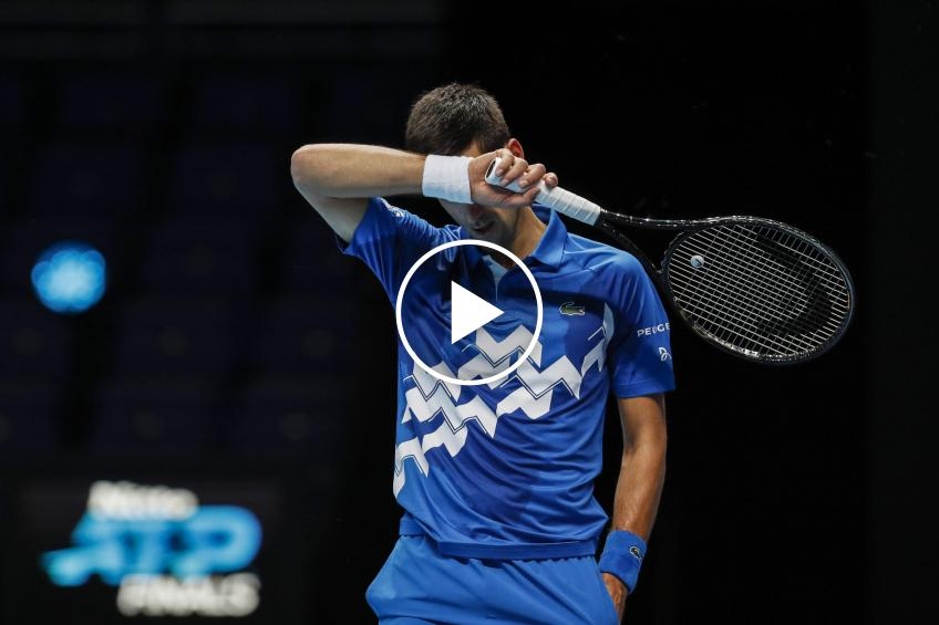 ATP Finals: Djokovic kneels to Medvedev and waits for Zverev: HIGHLIGHTS