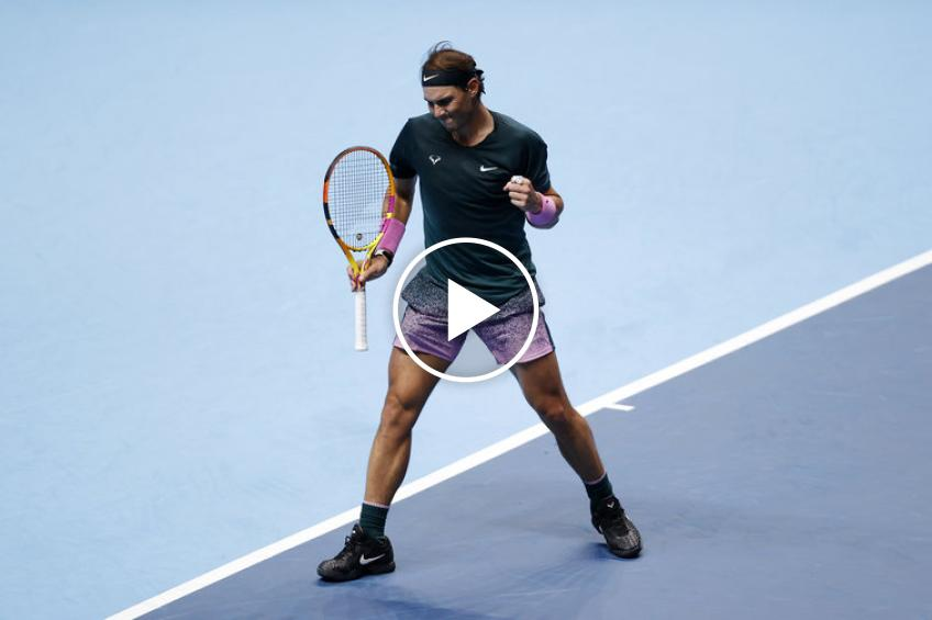 ATP Finals: Rafael Nadal and Andrey Rublev's MATCH-POINTS