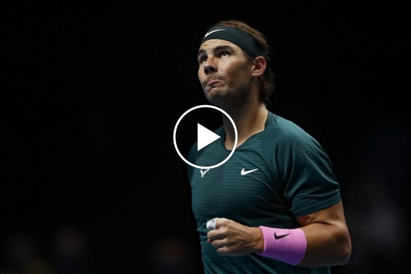 ATP Finals: Nadal and Djokovic's HIGHLIGHTS defeats