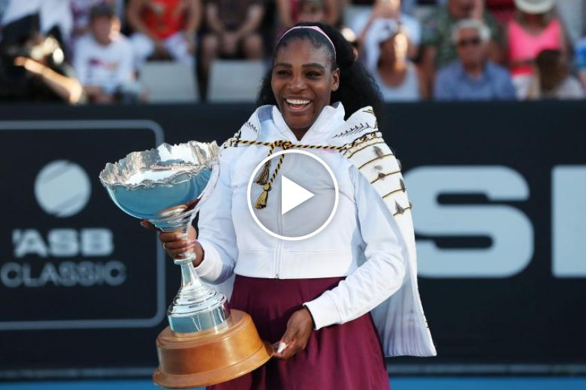2020 memories: Serena Williams' 73th career title in Auckland