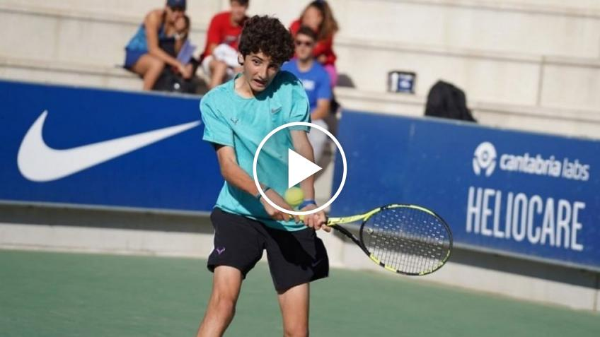 Rafael Nadal's 16-year-old cousin makes his pro debut