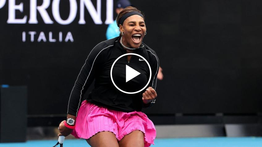WTA Yarra Valley Classic: Serena Willims' Last 8 match-point!