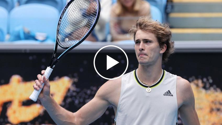 Australian Open 2021: Alexander Zverev vs Giron's HIGHLIGHTS