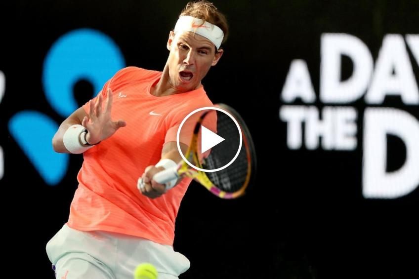 Australian Open 2021: Rafael Nadal's on-court interview