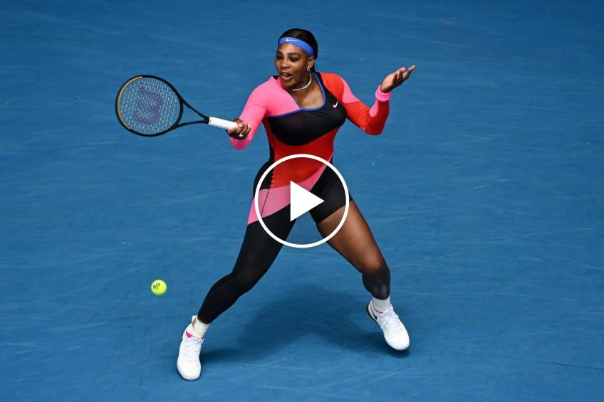 Australian Open 2021: Serena Williams vs Potapova's HIGHLIGHTS