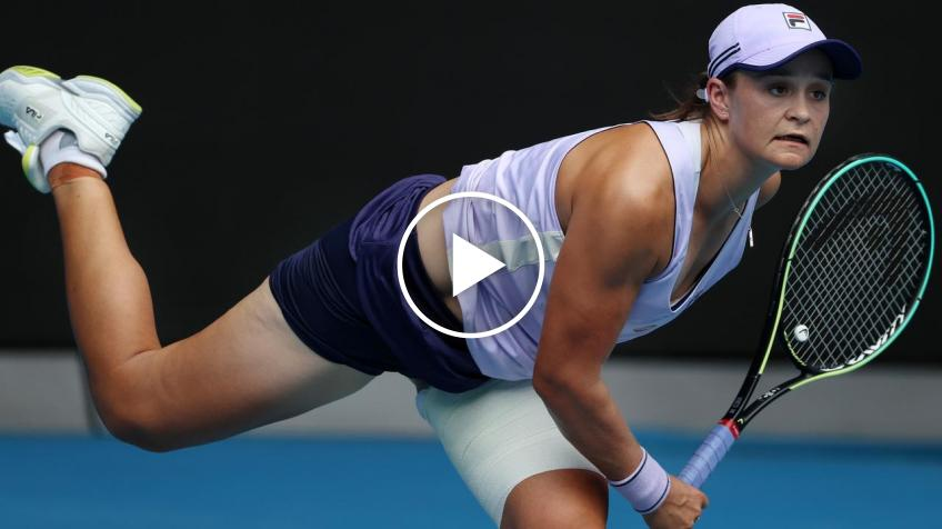 Australian Open 2021: Ashleigh Barty vs Alexandrova's HIGHLIGHTS