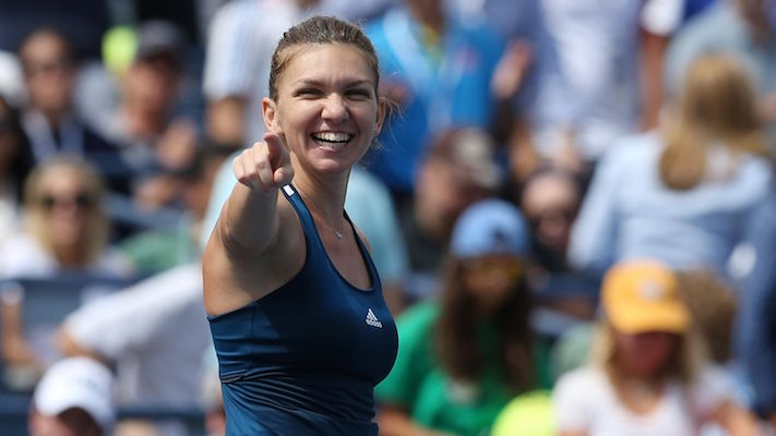US Open 2016- Simona Halep cruises past Carla Suarez Navarro into the quarter-finals