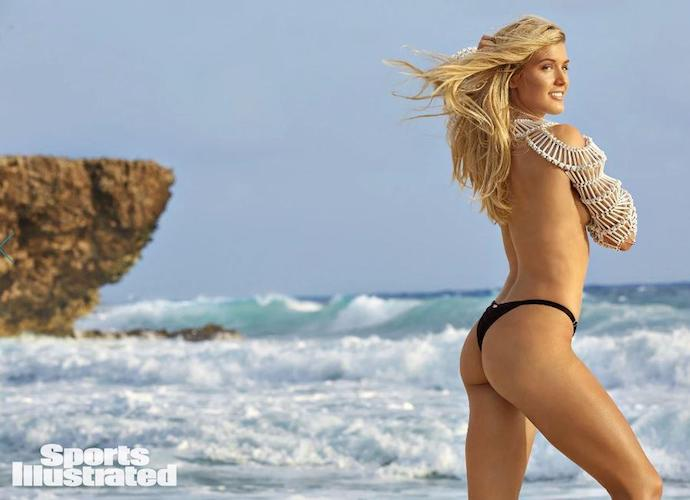 Genie Bouchard in the 2018 isssue of Sports Illustrated Swimsuit Edition