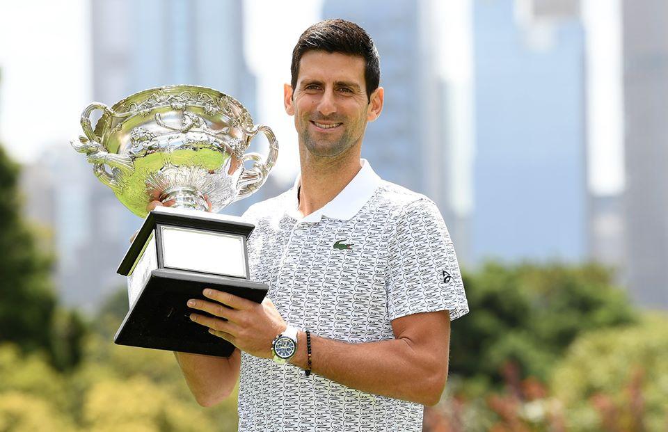 Novak Djokovic and Australian Open = 🏆❤️