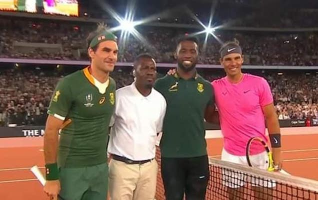 Rafael Nadal and Roger Federer Break Tennis World Attendance Record in South Africa