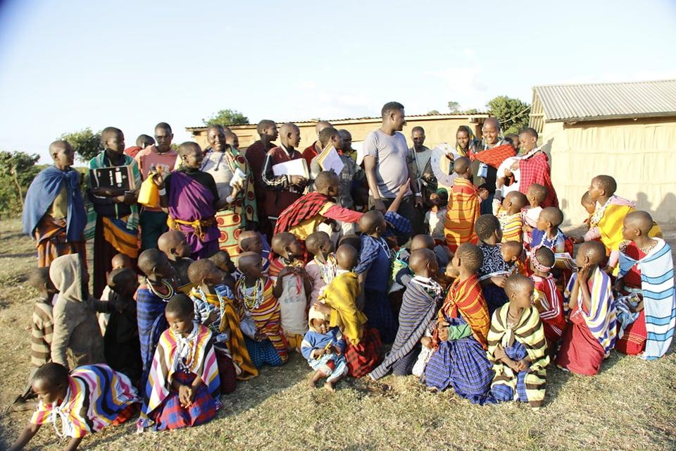 Tennis World Foundation - Feeding Tanzania