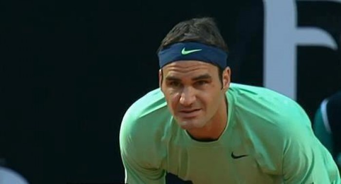 Roger Federer:´You show me such warmth in Rome. Higher pressure in Italy´