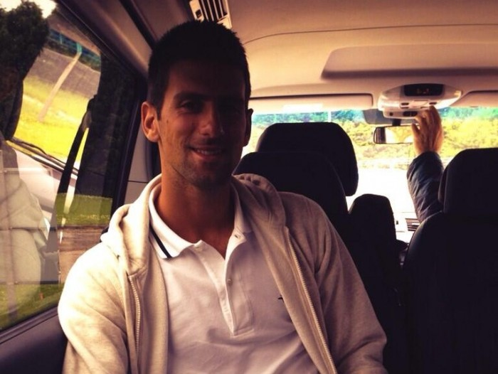 Novak Djokovic in London