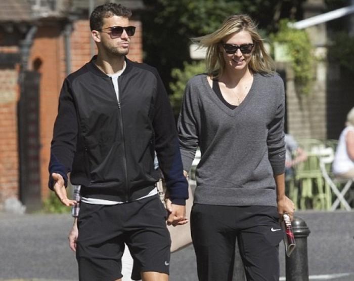 Maria Sharapova with Boyfriend Grigor Dimitrov