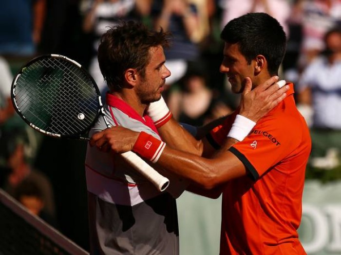 Stan Wawrinka: I am the only player who can push Novak Djokovic back