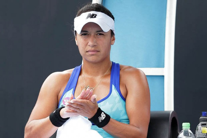 Heather Watson reveals she received death threats after losses