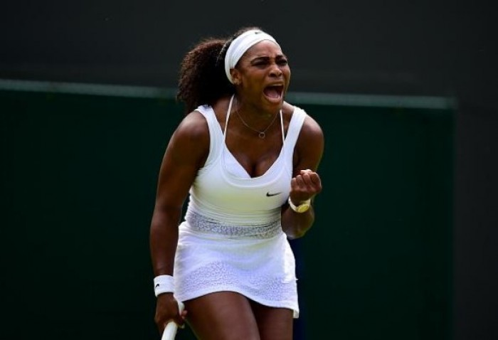 It Was Just a Scare! Serena Williams beats Watson to Keep Grand Slam Dream Alive in Wimbledon!
