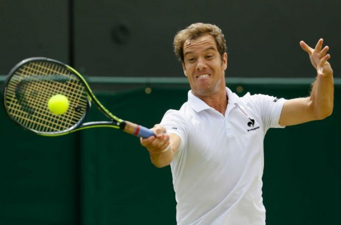 Vintage Gasquet Rolls Back the Years to Make Wimbledon Quarter-finals