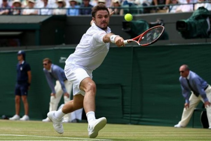 Stan Wawrinka overcomes David Goffin to Reach Wimbledon Quarters, Andy Murray Fights Past Ivo Karlovic