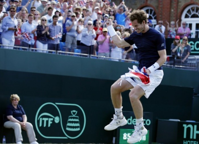 Andy Murray wants Davis Cup Semi-final to be in Glasgow