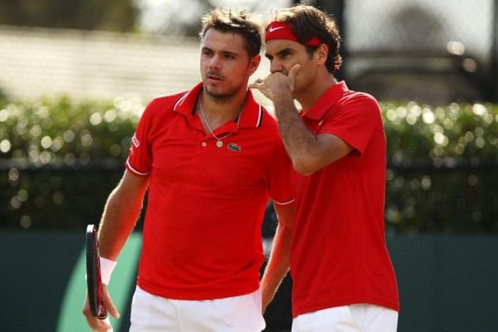 Roger Federer and Stan Wawrinka to Lead Switzerland against Netherlands in Davis Cup Playoffs