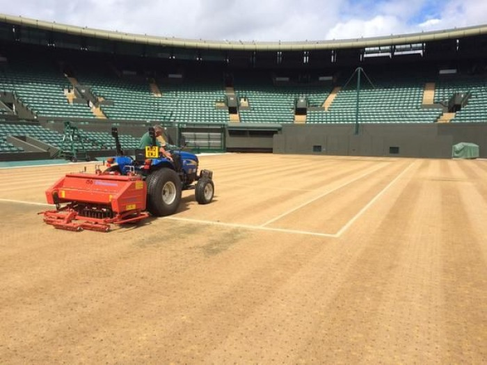 Here is How Wimbledon Looks Without Grass (PICS INSIDE)!