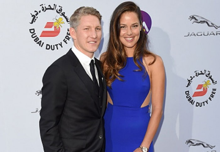 Bastian Schweinsteiger with hot, Boyfriend Ana Ivanovic