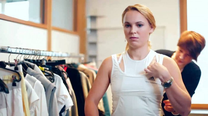 Caroline Wozniacki&acutes US Open Series dress revealed (Pictures Inside)