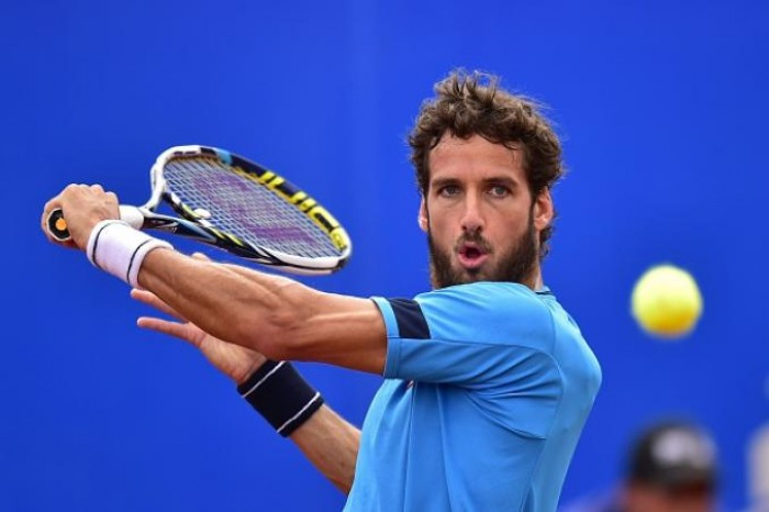 ATP Gstaad - What a risk for Feliciano Lopez!