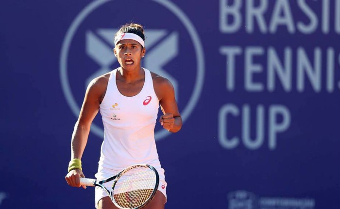 Teliana Pereira Wins Second WTA Singles Tour Title