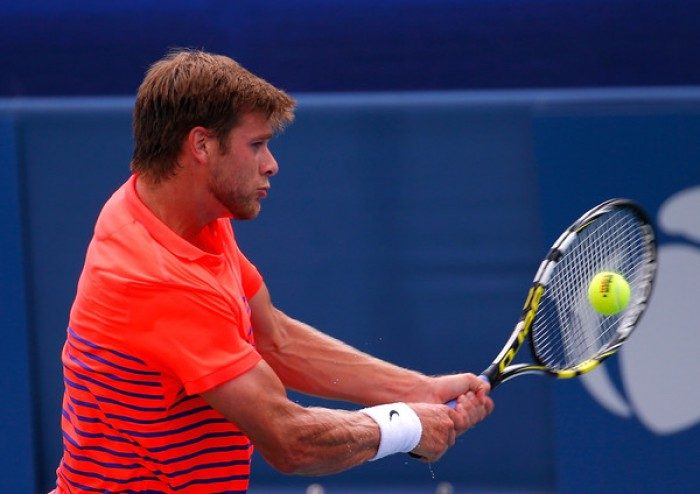 Tennis - American Ryan Harrison Advances in Citi Open Qualifying
