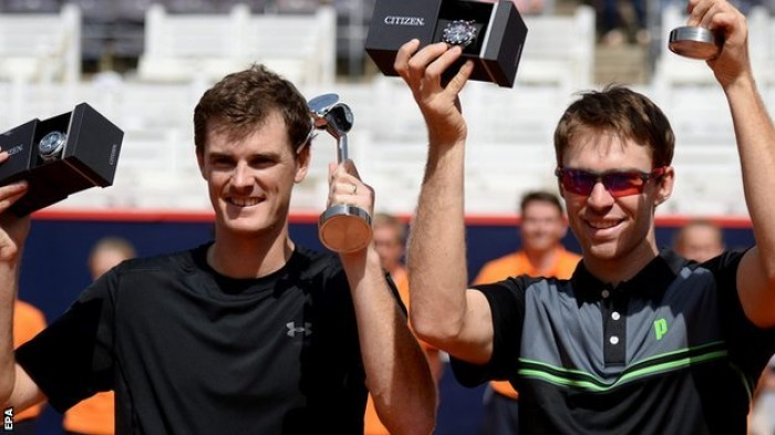 Jamie Murray and John Peers lift Hamburg crown