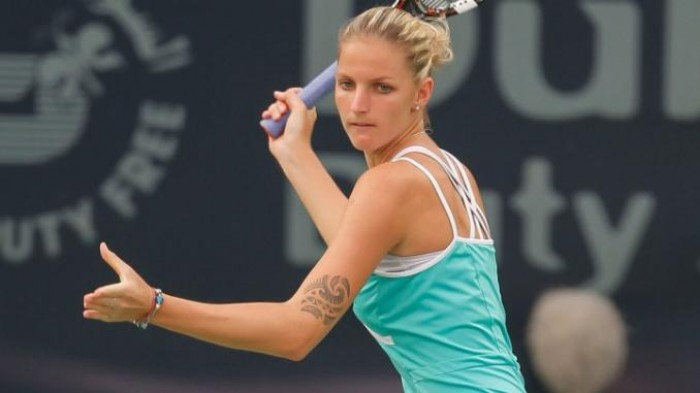 Karolina Pliskova Wins the US Open Series Without Beating a Top 50 Opponent!