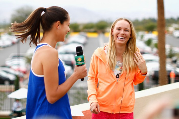 Ana Ivanovic and Caroline Wozniacki Sexy and Enchanting in New Photo Shoots (PICS INSIDE)