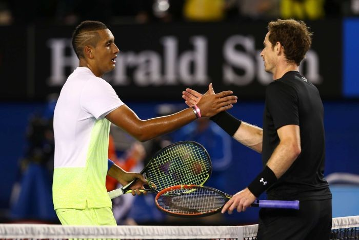 Judy Murray expects �clean&acute match between Nick Kyrgios and Son Andy Murray