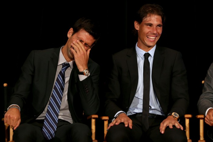 Funny Novak Djokovic Tries to Distract Rafael Nadal in an Interview (VIDEO INSIDE)