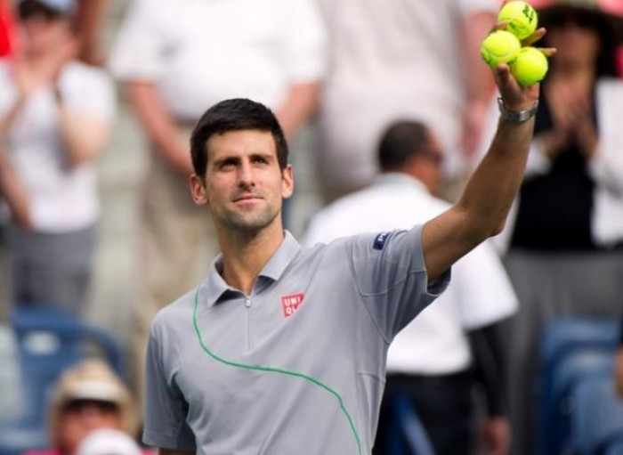 Novak Djokovic: ´I´m not looking at a match against Federer, I want to win the Trophy!´