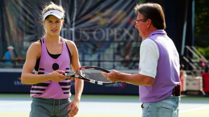 Eugenie Bouchard: �Jimmy Connors? I Look Forward to see him Again on Sunday´