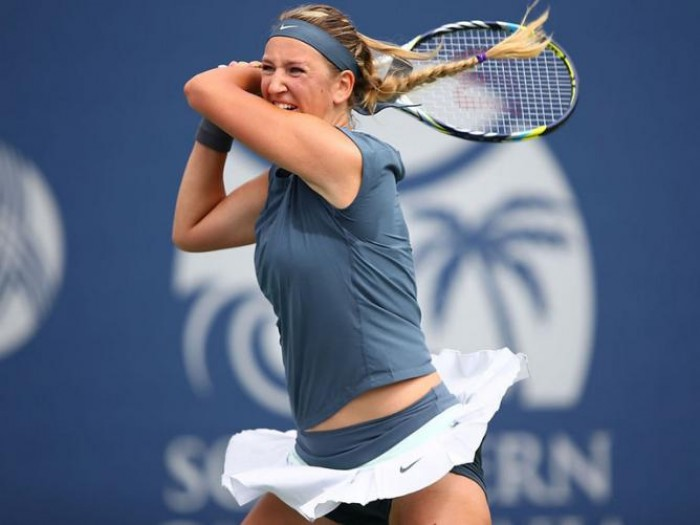 US Open Women´s Singles Day Two Results: Wins for Wozniacki, Azarenka, Stosur, Muguruza