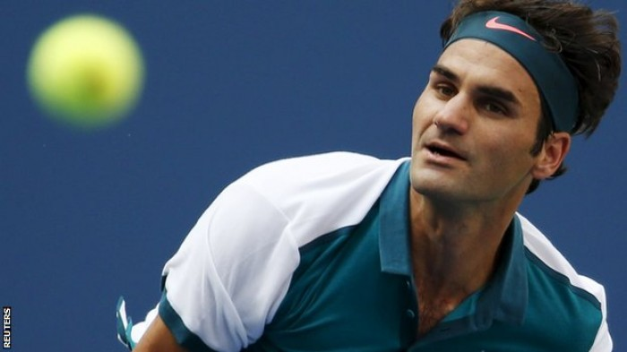 Roger Federer talks about the fast conditions and his straight set win over Leonardo Mayer
